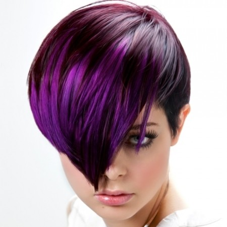 Violet Highlights In Brown Hair – Bing Images