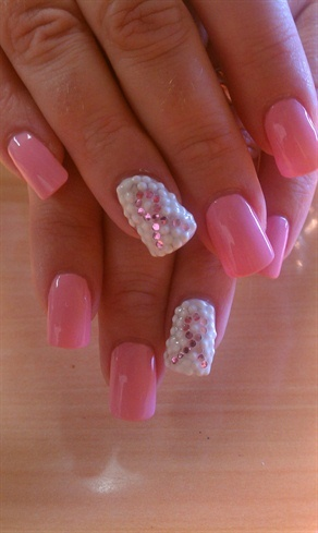 Breast Cancer Awareness Nails The Beauty Thesis