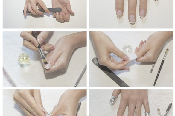 How to remove gel nails at home!