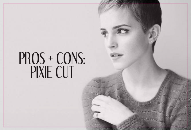Pros and Cons of the Pixie Cut