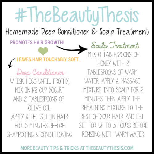 tbt homemade conditioner and scalp treatment